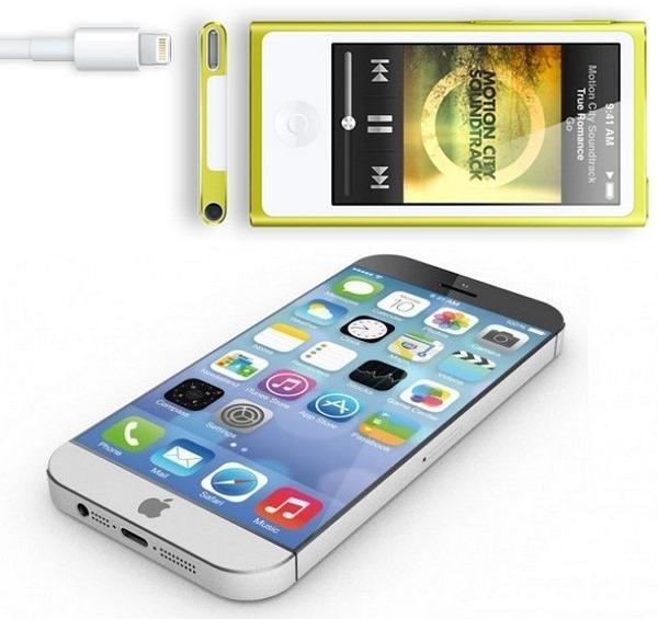 Дизайн iPhone 6 будет похож на iPod nano