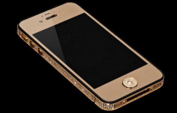 Золотой iPhone 5