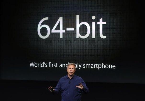 64 битный процессор A7 в iPhone 5s