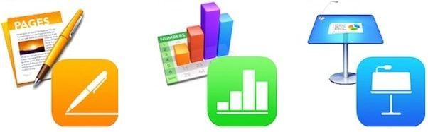 iwork для iphone ipad