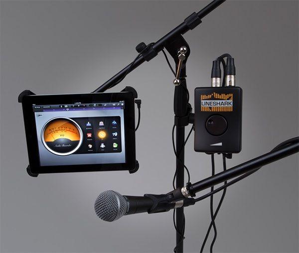 Lineshark - устройство преобразования аудио iOs