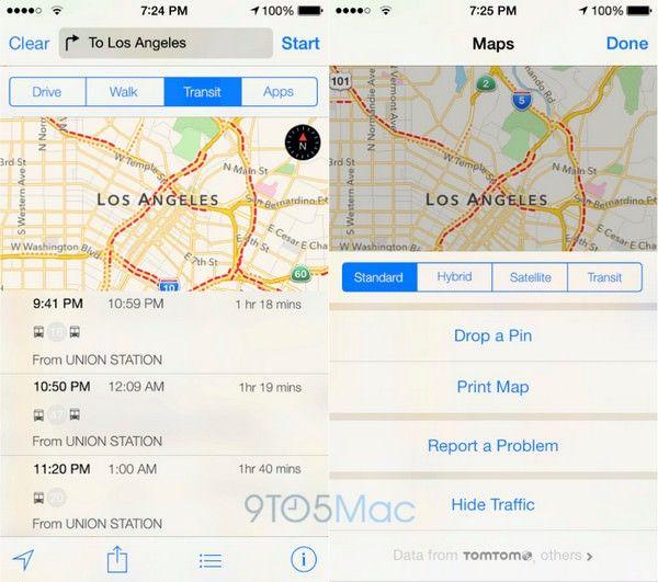 улучшенные карты Apple Maps
