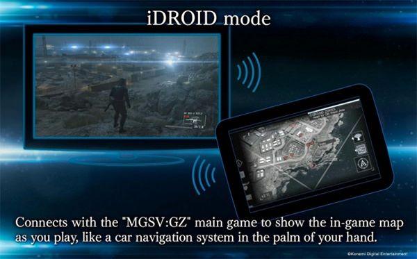 Metal Gear Solid V для iPhone может показывать карту игры