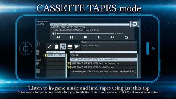 Metal Gear Solid V для iPhone встроенный плеер