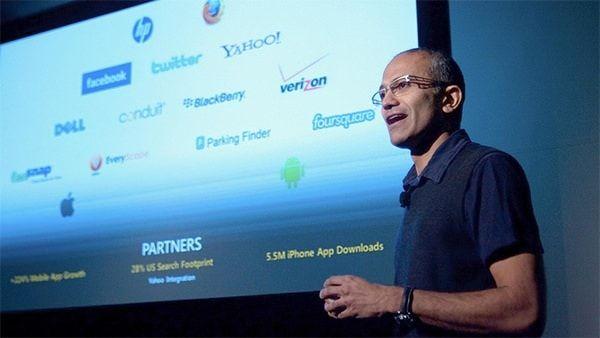 Сатья Наделла новый исполнительный директор Microsoft