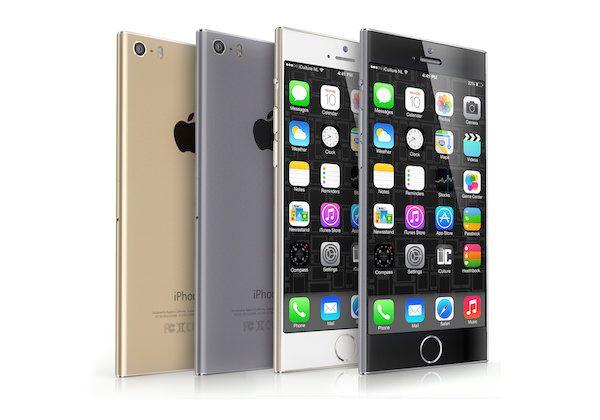 Разноцветный iPhone 6 nano
