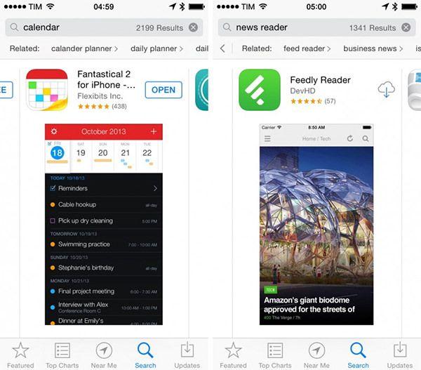 Рекомендации в App Store