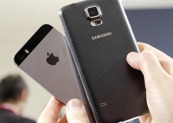 Камеры samsung galaxy s 5 против iphone 5s