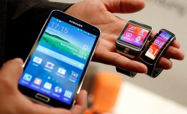 Официальные видеообзоры Galaxy S5, Gear 2 и Gear Fit