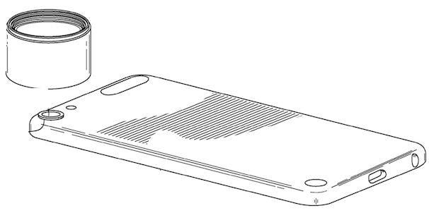 патент на съемные объективы iPhone