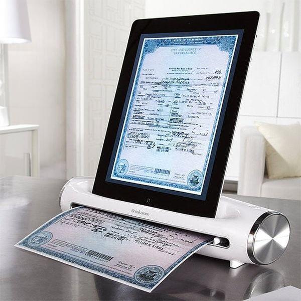 Сканируем документы с помощью AirPrint на iPad