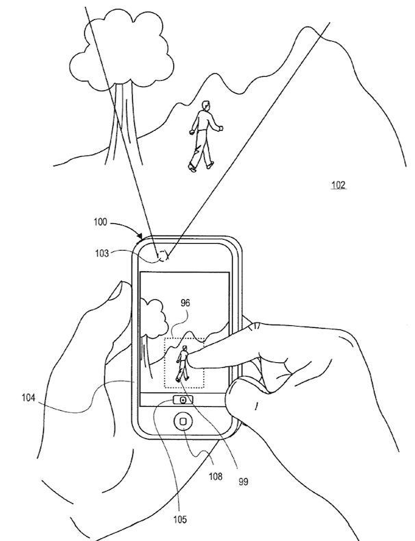 автофокус на iPhone патент Apple