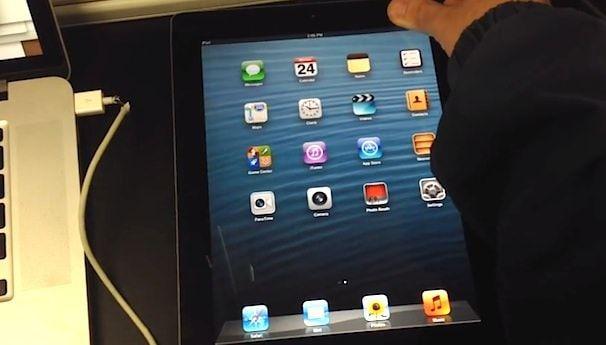 три версии iOS на iPad