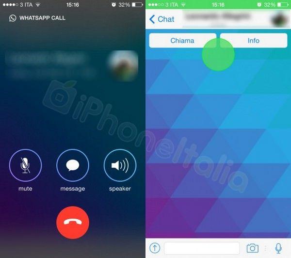 Как будет выглядеть интерфейс WhatsApp