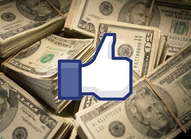 Доходы FaceBook