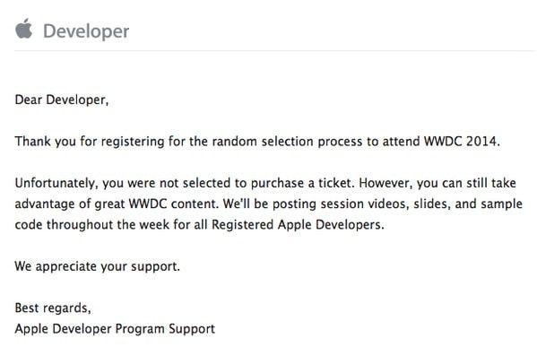 разработчик Apple WWDC