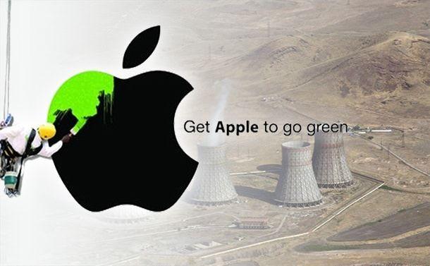 Apple стремится к природной энергии