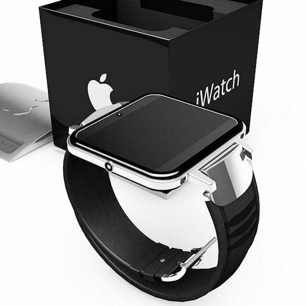 Apple запатентовала часы iWatch