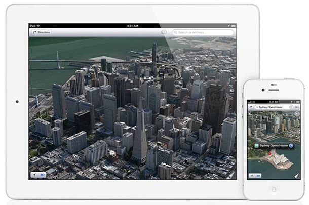 карты Apple iOs