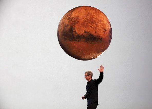 Apple может купить Марс
