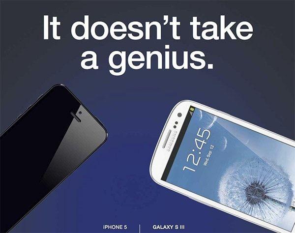 Реклама Apple против Samsung