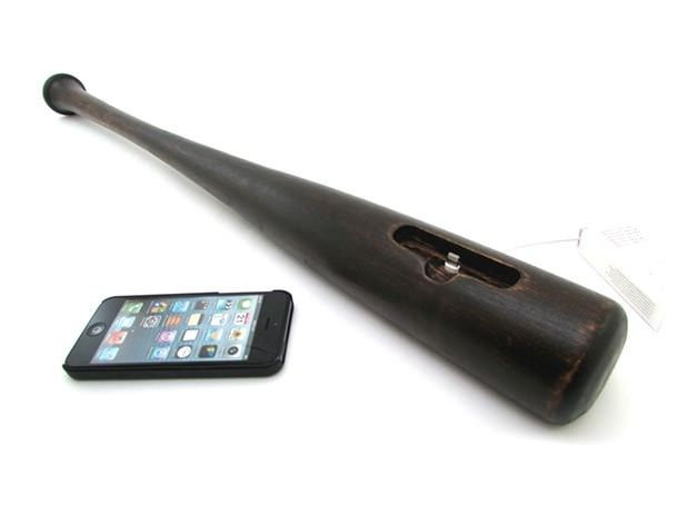 Baseball Bat Dock for iPhone 5 USB