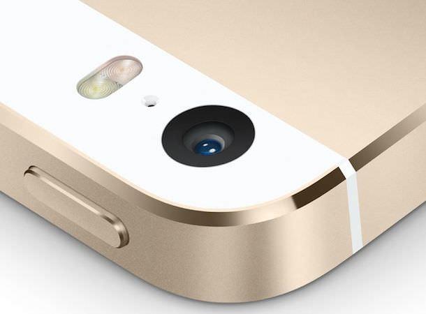Камера iPhone 5s