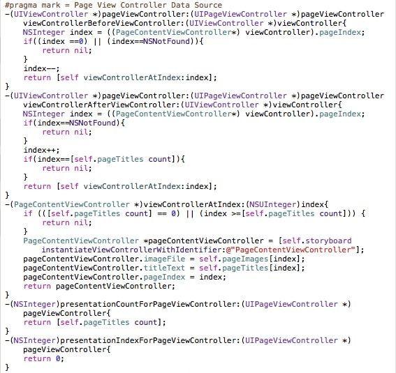 вторая часть кода pageview