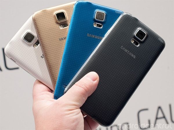 Цвета  Samsung Galaxy S5