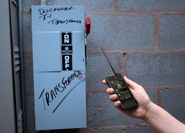 Mr. Ghost EMF Detector улавливает электромагниное поле