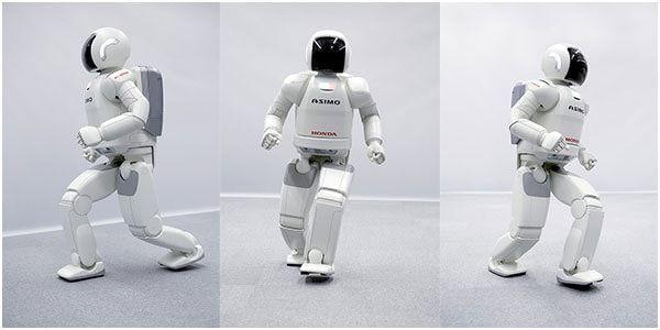 Новый робот Asimo с возможностью бега