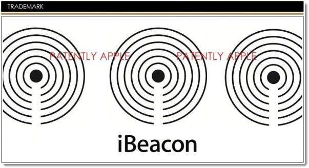 Заявка на патент iBeacon