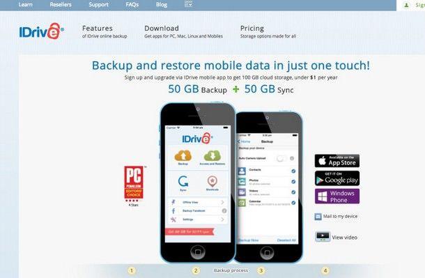 100 Гбайт в iDrive
