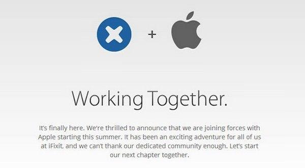 Apple купила iFixit
