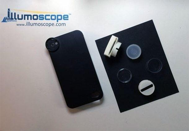 illumoscope- микроскоп для iPhone