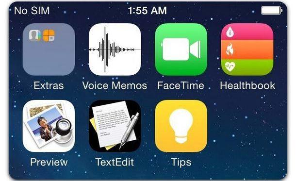 интерфейс iOS 8