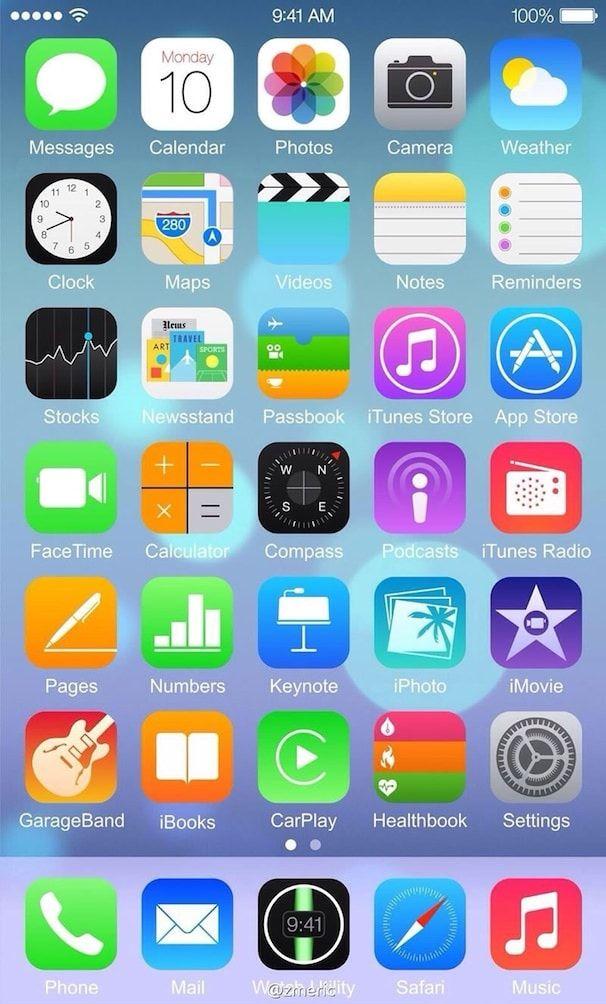 iOS 8 на iphone 6