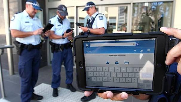 iPad mini в полиции