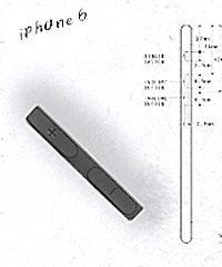 кнопка громкости iPhone 6