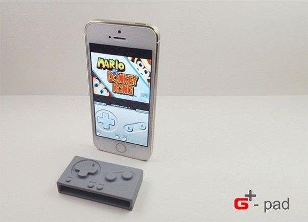 iPhone и G-Pad