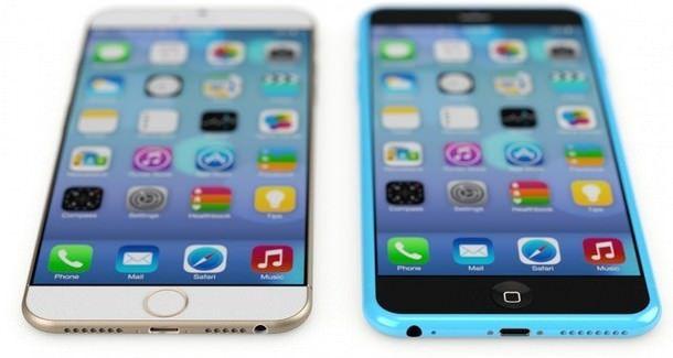 концепт iPhone 6S и iPhone 6C