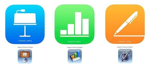 Новые иконки iWork