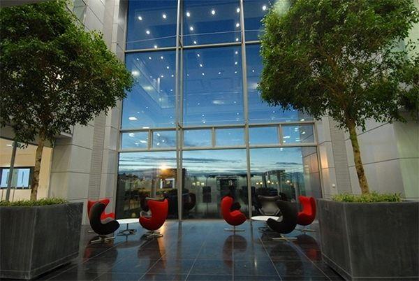 Комната отдыха в новом здании Apple