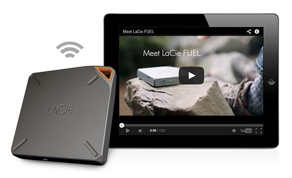 Lacie позволит просматривать видео на iOs устройствах по Wi-Fi