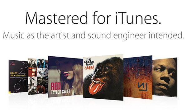 Музыка сведенная для iTunes