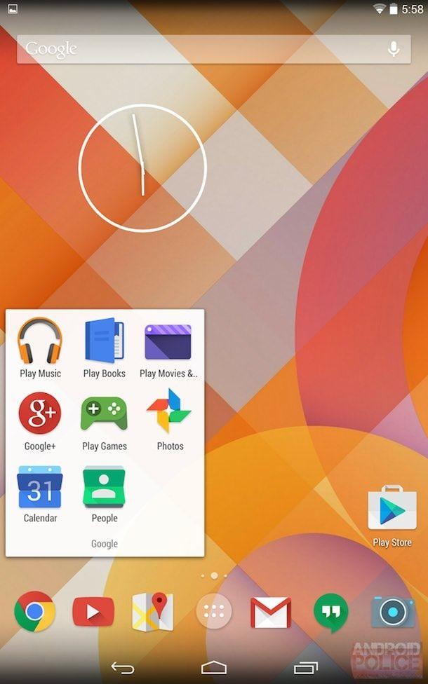 новые иконки nexus android