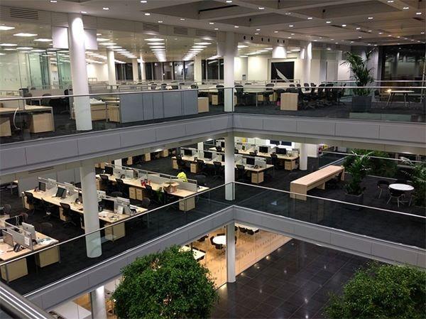 Офисы в новом здании Apple