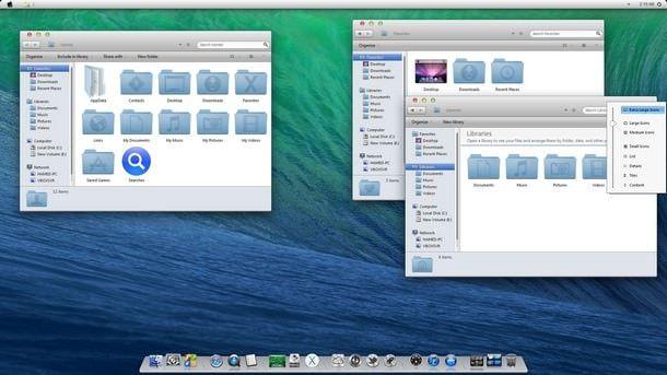 Симулятор OS X Mavericks