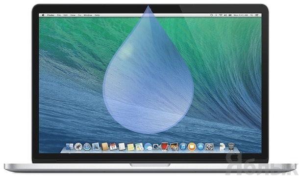 промок Macbook air / pro