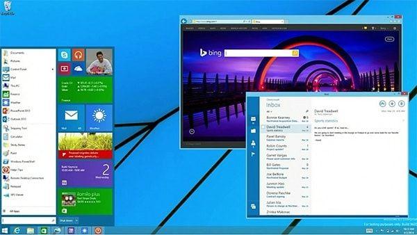 Меню пуск в Windows 8.1. update 2